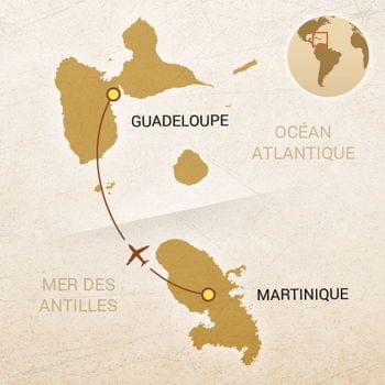 carte combine Martinique